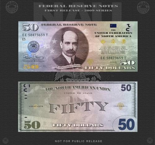 Ameros Rule Federal Reserve Showcases New Us Dollar