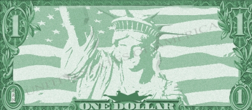 Dollar-bill-back